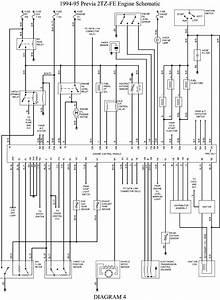 1992 Previa Engine Diagram