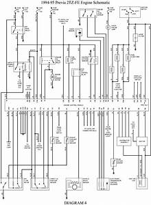 1995 Previa Ac Wiring Diagram   29 Wiring Diagram Images