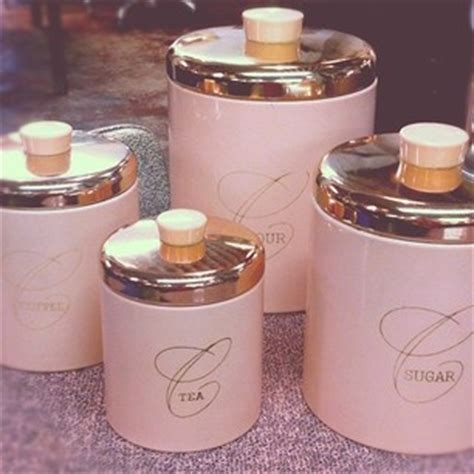 pink kitchen canisters 1000 images about pink and blue kitchens on