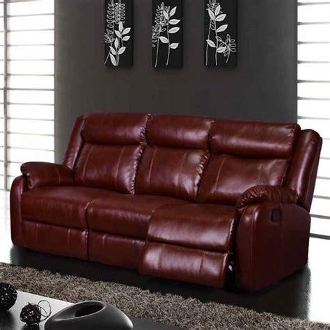 burgundy leather sofa and loveseat global furniture usa leather reclining burgundy sofa ebay