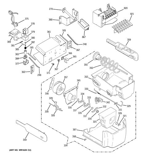 ge pscsgpass side  side refrigerator parts sears partsdirect