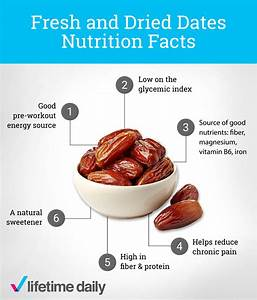 Dates The Perfect Pre Workout Snack Lifetime Daily