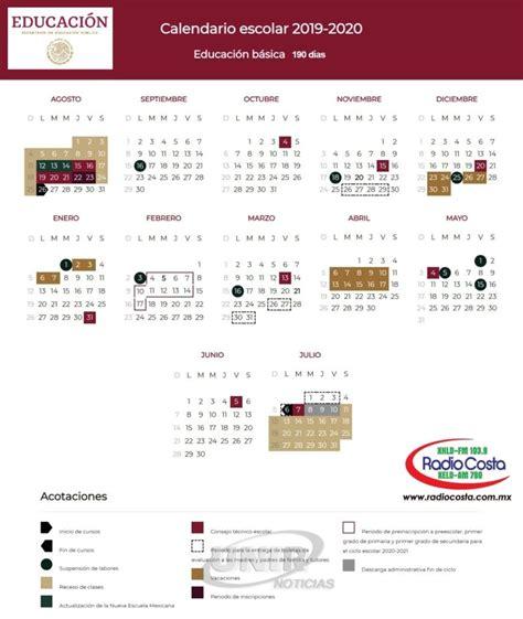 infografia calendario escolar radio costa