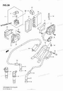 Suzuki Motorcycle 2008 Oem Parts Diagram For Electrical