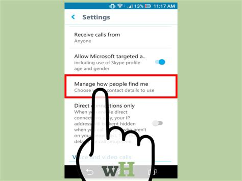 mobile skype  pictures wikihow