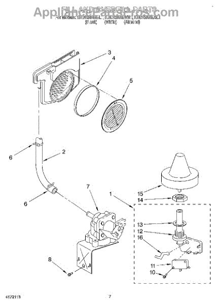 Whirlpool Water Inlet Valve Appliancepartspros