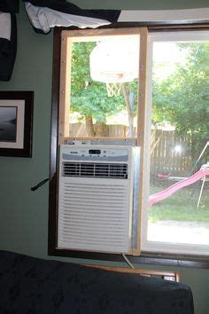 installing  portable air conditioner   casementcrank window window house  apartments