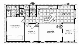1993 Fleetwood Manufactured Home Floor Plans