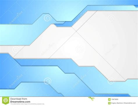 blue  white tech corporate vector background stock