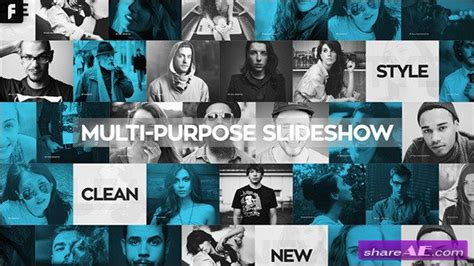 after efects universal template videohive universal slideshow 187 free after effects