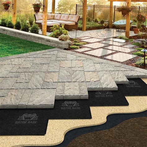 Patio Pavers by Easier Paver Patio Base That Will Save Your Back Family