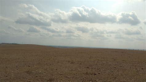 picture desert blue sky landscape steppe land