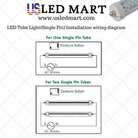 Wiring Diagram For Led by G13 Single Pin Led Light Bar For Display Cooder Door