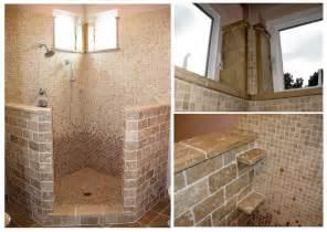 open shower bathroom design bathroom designs with travertine tiles home decorating ideasbathroom interior design