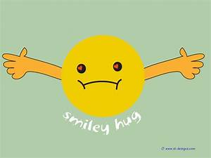 information about hugging smiley faces