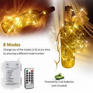 100 led lichterkette mit fernbedienung und timer 4 aloici With katzennetz balkon mit garden lights lichterkette