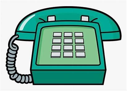 Telephone Cartoon Clipart Phone Transparent Hq Animated