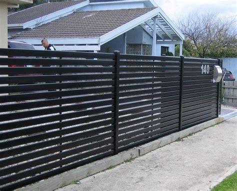 Horizontal Slat Fencing Melbourne,aluminium & Steel Slat