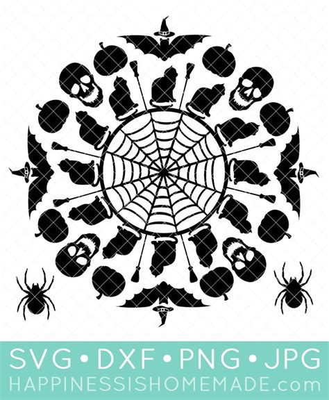 This beautiful design creates a beautiful, yet easy to make project. Halloween SVG Files + Trick or Treat Bag - Happiness is ...