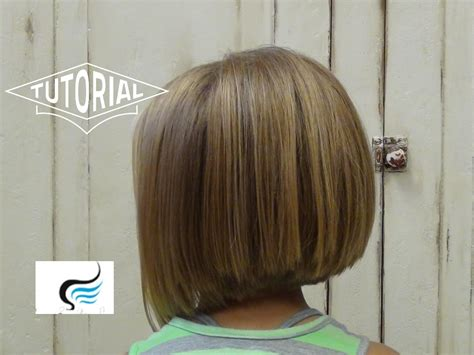 (little Girl Bob Haircut) Adorable A-line Hairstyles