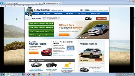 Researching The Value Of A Used Car Using Kbbcom On Vimeo