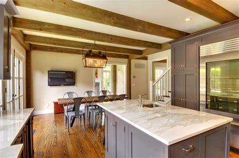 latest trends  post  beam kitchens