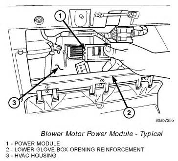 2002 Chrysler Town And Country Blower Motor Resistor by Why Has Chrysler Town Country Heater Blower Motor
