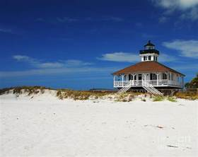 greeting card app boca grande lighthouse photograph by mel steinhauer