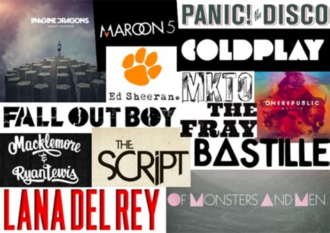 maroon 5 vs coldplay coldplay maroon 5 panic at the disco fall out boy lana