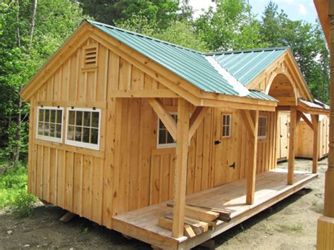 12x20 shed plans with porch shed woodworking plans 12 x 20 cottage shed plans