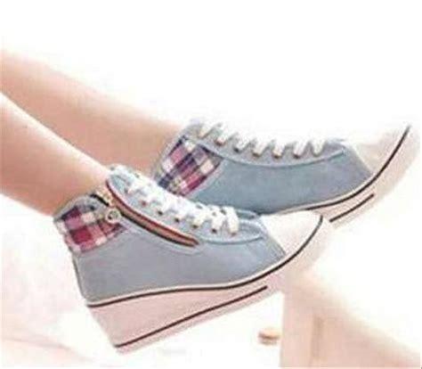 12yy Wedges Boots Sepatu Wanita jual sepatu sandal wedges boots wanita perempuan cewe