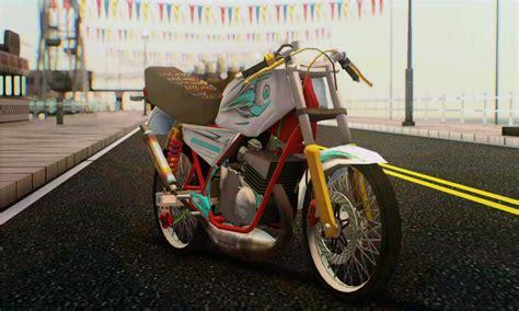 Modip Rx King Stang Jepit by Rx King Putih I Mod Gta Sa Drag Brambang Aspal
