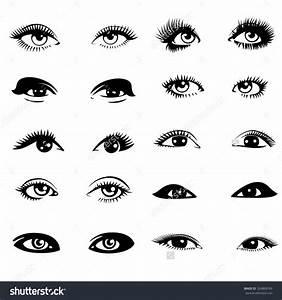 Set of Eyes Clip Art (37+)