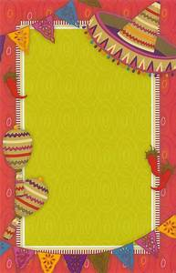 hot fiesta invitation cards and free printable fiesta With mexican themed powerpoint template