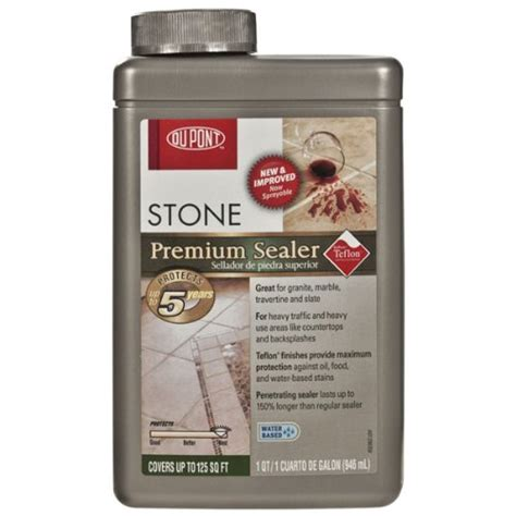 dupont sealer upc 669009714037 e i dupont dupont premium stone sealer quart buycott upc lookup