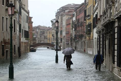 Venice Under Water The Atlantic