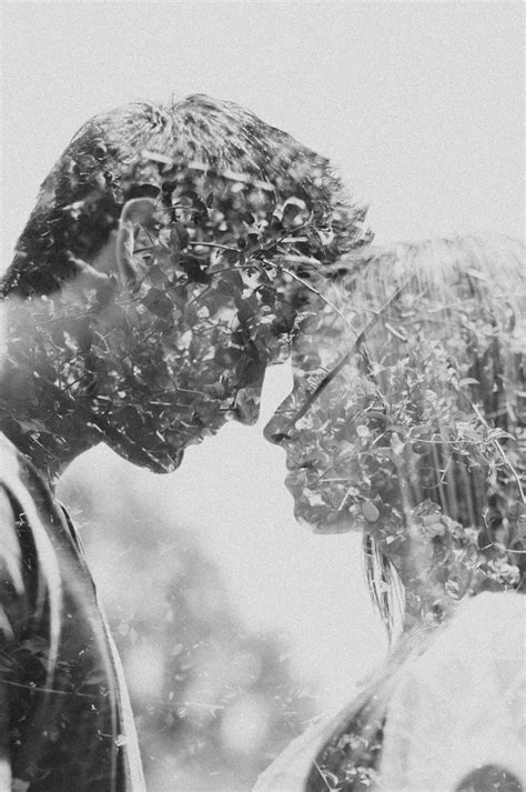 images  double exposure couples photography