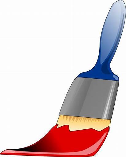 Paint Brush Bogda Costea Clipart Paintbrush Clip