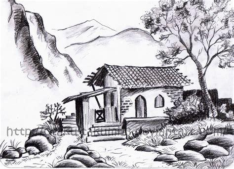 landscape drawing  jibari chan  deviantart