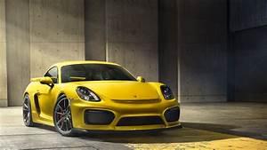 Porsche Cayman GT4 HD Wallpaper Background Image