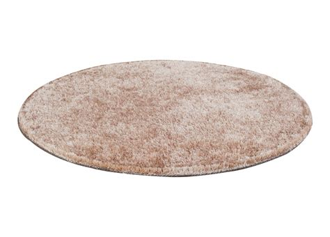tapis rond cosy beige trendcarpetfr