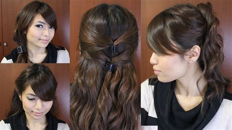 casual friday easy hairstyles  medium long hair