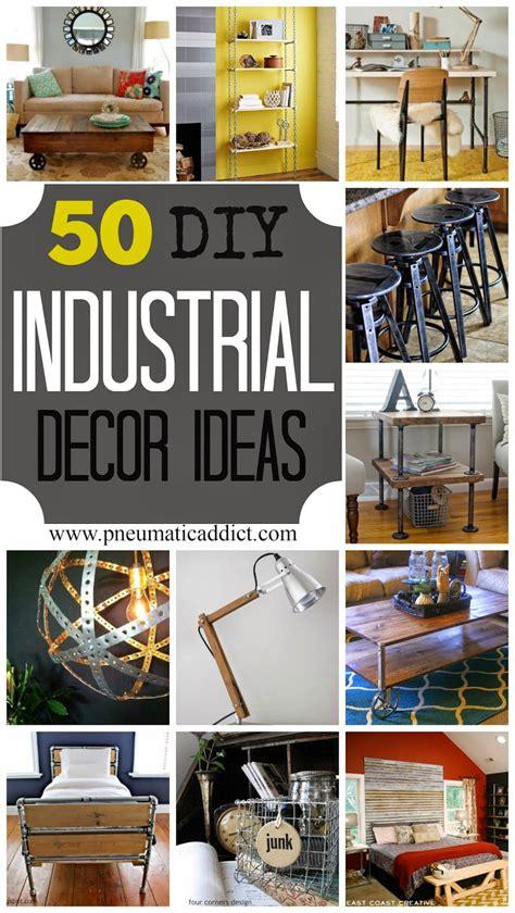 diy industrial decor ideas pneumatic addict
