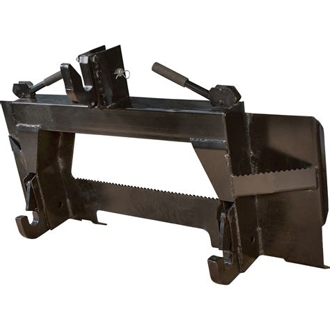 load quip  pt category  skid steer adapter plate northern tool equipment