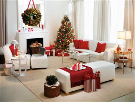 red and white christmas home decoration ideas christmas