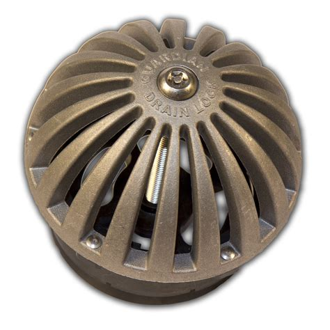 Bath Drain Strainer Dome Cover by Dome D Lock Cast Aluminum Floor Sink Locking Dome Strainer