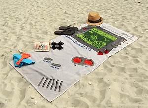 Serviette De Plage Xxl : serviette de plage game boy geek ~ Teatrodelosmanantiales.com Idées de Décoration