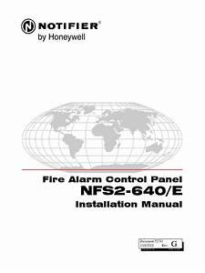 Notifier Nfs2 640 Wiring Diagram   32 Wiring Diagram