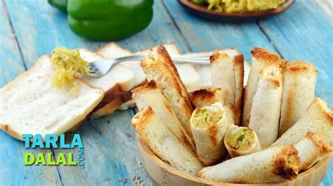 Cheesy Maggi Bread Rolls Simple Snack Easy To Make Party