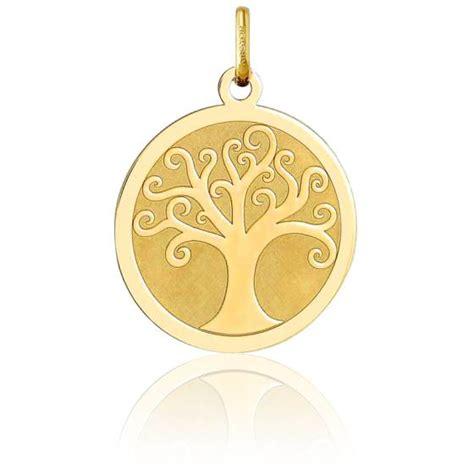 m 233 daille arbre de vie or jaune 750 1000 argyor ocarat
